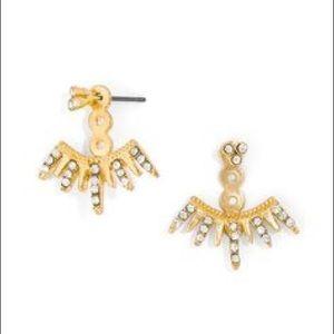 Gorjana Gold Ear Jackets Earrings